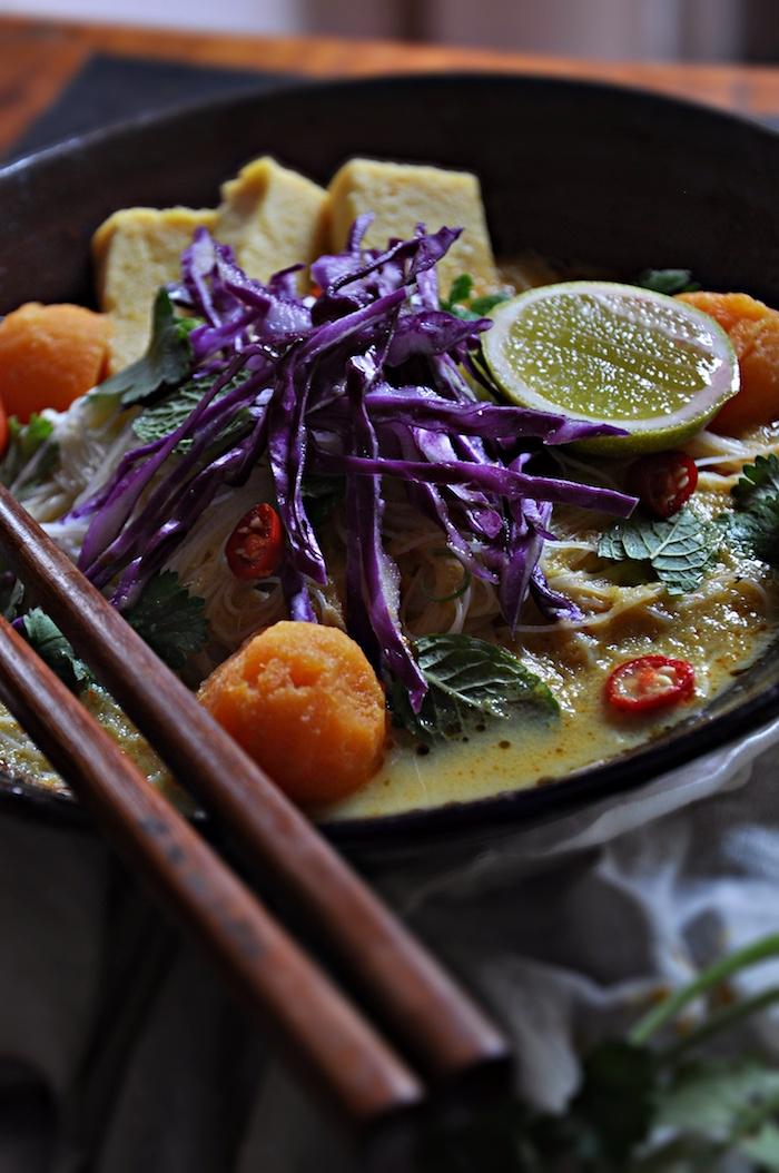 curry laksa noodles_the lemon and jar_5